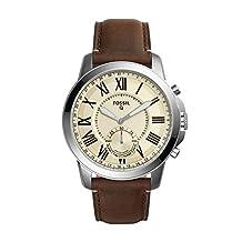 Fossil Q Grant Gen 2 Hybrid Smartwatch Dark Brown Leather FTW1118