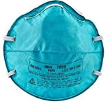 N95 Particulate Respirator / Surgical Mask 3M™ Cone Headband One Size Fits Most - 120/CS (MFN # 1860)