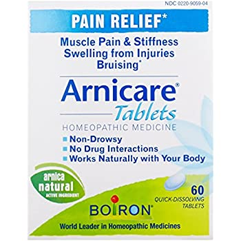 Boiron Arnicare, 60 Tablets, Homeopathic Remedy for Pain Relief