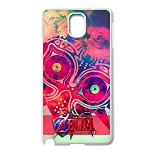 Generic for Samsung Galaxy Note 3 Cell Phone Case White Majora's Mask Custom HKADSGHGO2677