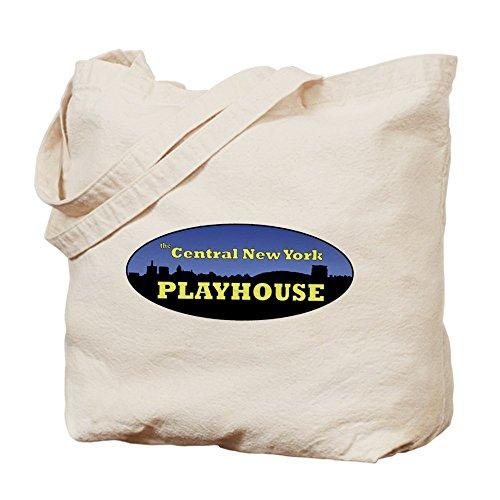 CafePress - Central New York Playhouse Logo - Natural Canvas Tote Bag, Cloth Shopping - Syracuse New Mall York