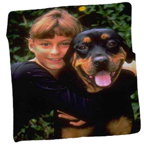 Personalized Photo Throw Fleece Blanket 50