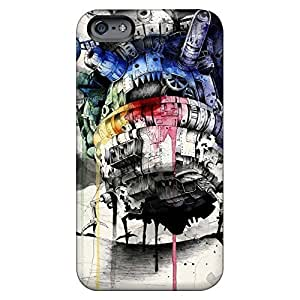 New Arrival cell phone carrying cases Forever Collectibles covers iphone 5c /5cs - howls moving castle