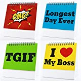 Funny Office Gifts - Best Office Gift for Coworkers, Boss, Cubicle Accessories, Business Gifts, Gag Gifts, Office Desk Toys - Guaranteed Laughs - 29 Different Fun & Flip-over Picture Messages.