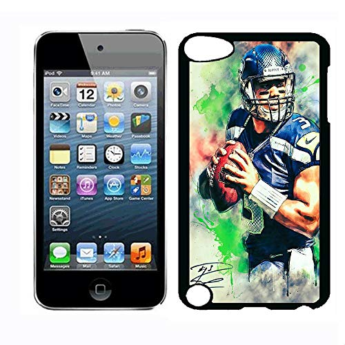WZSY iPod Touch 5th Case Russell Case Wilson for iPod Touch 5th iPod Touch 6th Case,PC Hard Case (Russell Wilson Cases For Ipod 5)