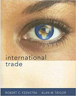 Book International Trade by Robert C. Feenstra (2007-11-15)