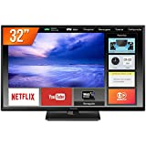 Smart TV LED 32´ HD Panasonic, 2 HDMI, USB, Bluetooth, Wi-Fi - TC-32FS600B