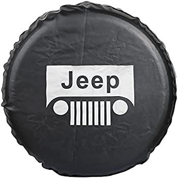 235 75r15 In Inches >> Amazon.com: Moonet Spare Wheel Tire Cover for Jeep Liberty Wrangler Commander Compass Grand ...