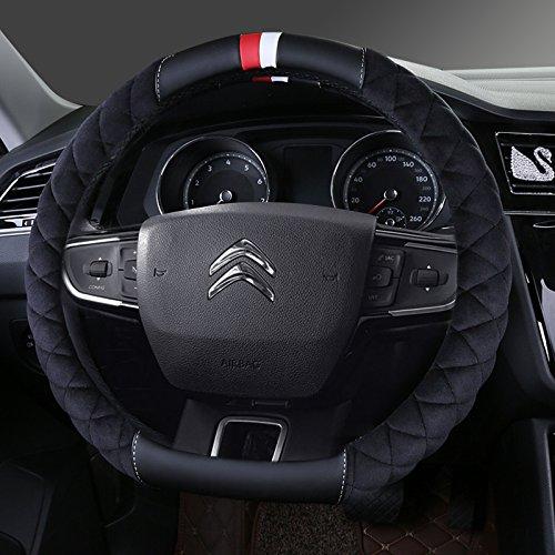 Felpa corto invierno tapacubos nuevo Citroen Elysee Sega-XR C3 C5 C2 C6 C4L Clásico,Circular - Rojo [A] Comentario: Amazon.es: Coche y moto