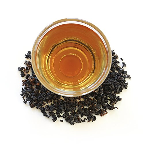 Teamalchi Taiwan Natural Loose Leaf GABA Black Tea, decaffeinated, for stress relief, reduce anxiety, sleep aid, weight loss aid