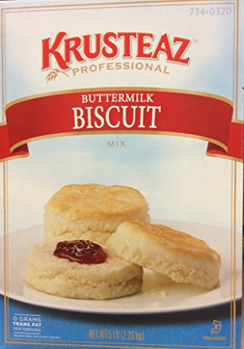 Krusteaz BUTTERMILK BISCUIT Mix 5lbs. (4-Pack) Restaurant Quality by Krusteaz