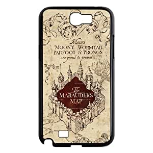 Samsung Galaxy N2 7100 Cell Phone Case Black Harry Potter AUW Phone Cases Clear Unique