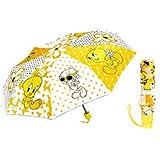 Tweety Bird Folding Umbrella