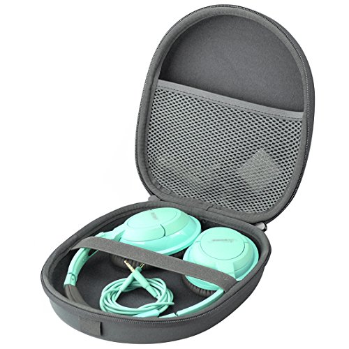 Headphone Headset Carrying Case for Bose QuietComfort QC25, QC2, QC15, AE2w, AE2i, AE2, SoundLink, SoundTrue / Headphone Full Size Hard Travel Bag