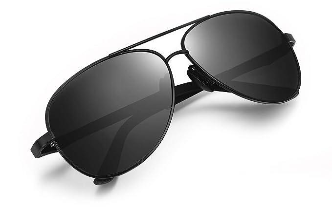 b729e407cf WHCREAT Occhiali da Sole Polarizzati da Guida Per Uomo Telaio in ...