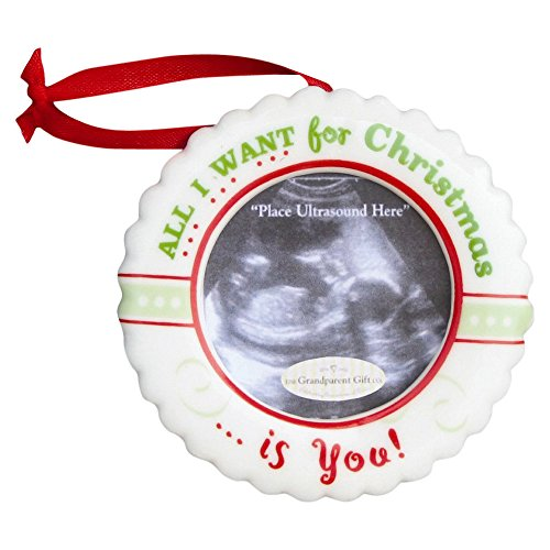 viStar Christmas Ultrasound Ornament- All I want for Christmas is You