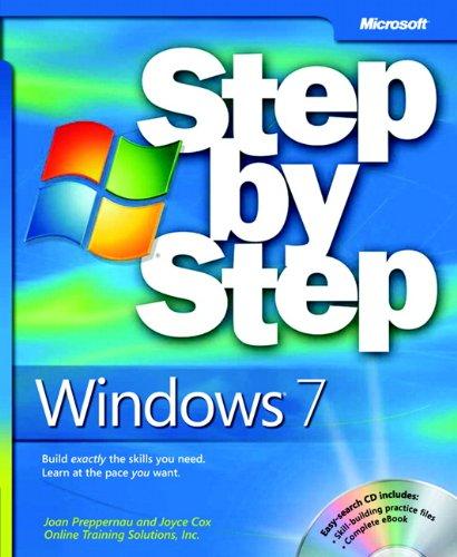 Windows 7 Step by Step (Julie Macintosh)