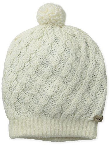 Columbia Wool Beanie - Columbia Women's with Alpine Beauty Hat, Sea Salt, One Size