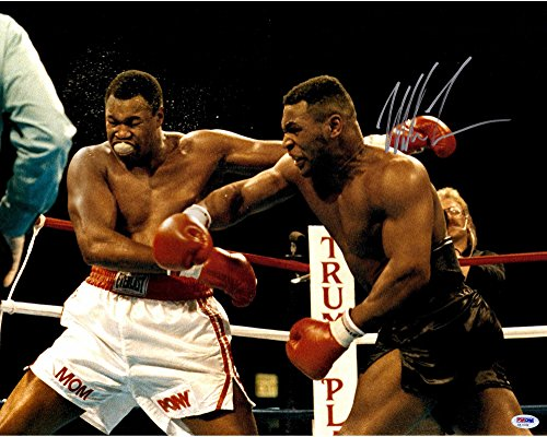 Mike Tyson Autographed 16