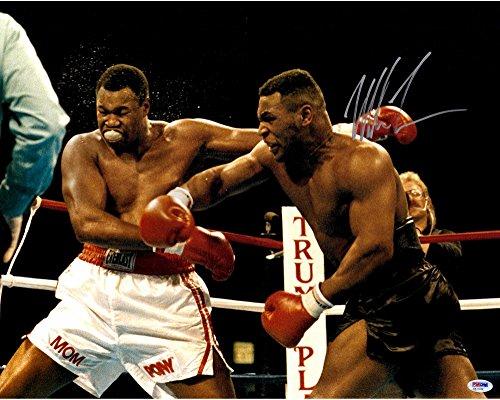 Mike Tyson Autographed 16
