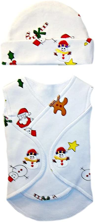 4 Preemie /& Newborn Sizes Gingerbread Girl Christmas Baby 4 Piece Clothing