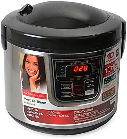 Multi eléctrica de Redmond RMC M20 de de negro 800 W, 5 L: Amazon.es