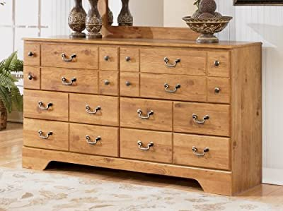 Bittersweet Dresser in Rustic Pine Finish No Part: 13-912B