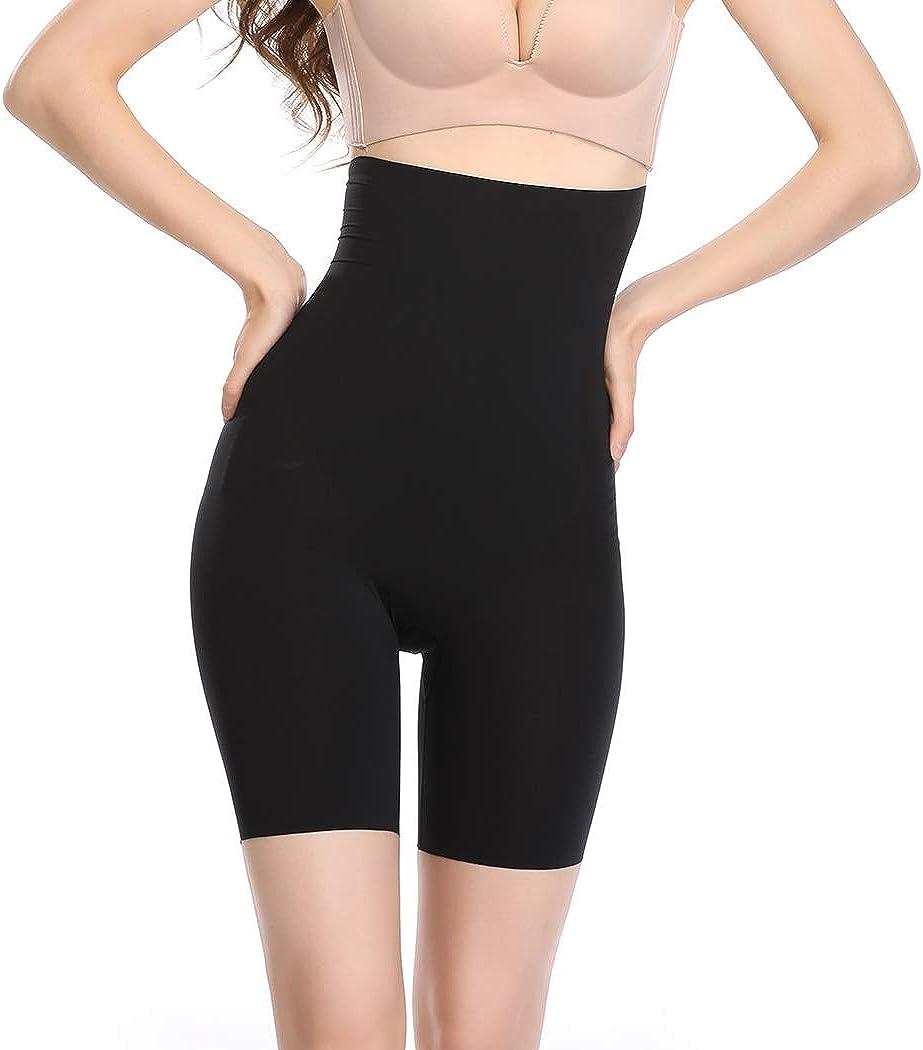 Joyshaper Shapewear Shorts for Women High Waist Tummy Control Panties Mid Thigh Slimmer Short
