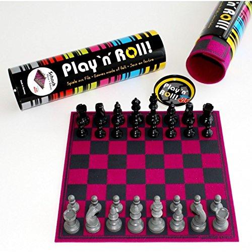 Weiblespiele 06223 Schachspiel 'Play 'N' ROLL' B0743KN4WC Schach Moderate Kosten     | Qualitätsprodukte