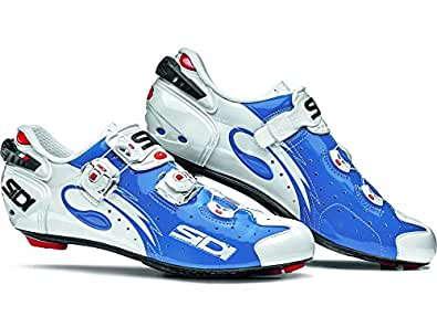 Amazon Com Sidi Wire Carbon Road Cycling Shoes Blue