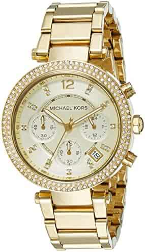 Michael Kors Women's Parker Gold-Tone Watch MK5354