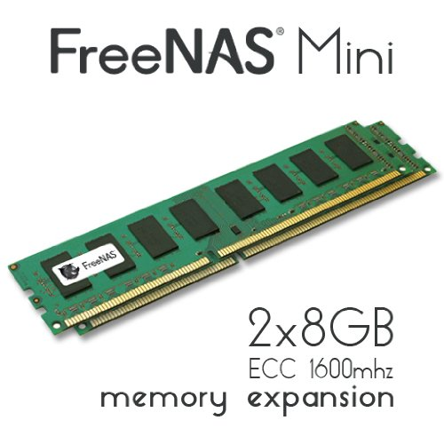 (FreeNAS Mini - Memory Upgrade - 2 x 8GB DDR3 1600Mhz ECC Unbuffered)