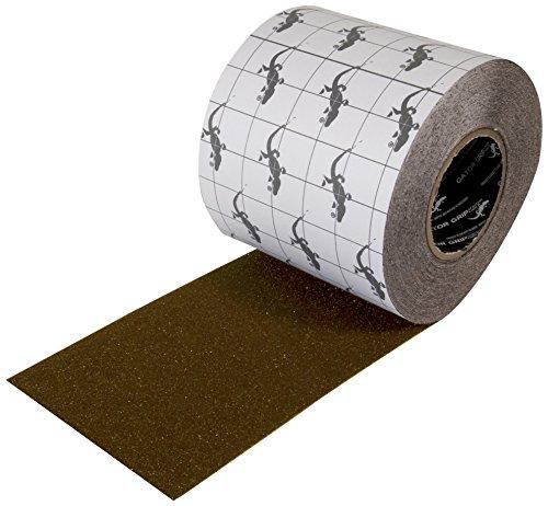 "Incom Gator Grip: Anti-Slip Tape, 6"" x 60', Brown"