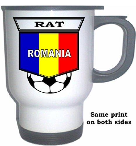 Mug White Rat - Razvan Rat (Romania) Soccer White Stainless Steel Mug