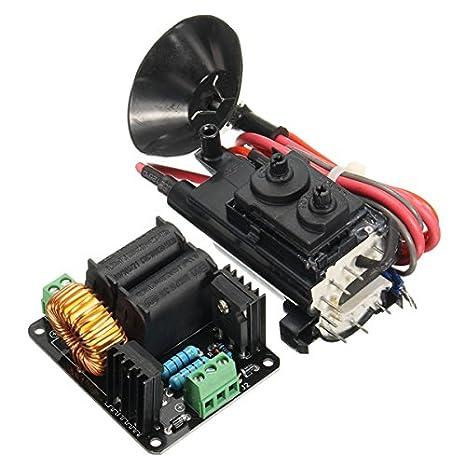 HITSAN 12V 24V ZVS Tesla Coil Flyback Driver Generator Marx