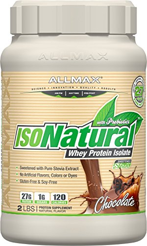 ALLMAX Nutrition Isonatural Whey Protein Isolate, Chocolate, 2 ()