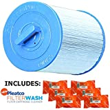 Pleatco Cartridge Filter PWW50P3-M Waterway Front Access Skimmer Aber Hot Tubs (Antimicrobial) 817-0050 03FIL1400 25252 378902 PWW50 (Antimicrobial) w/ 6x Filter Washes