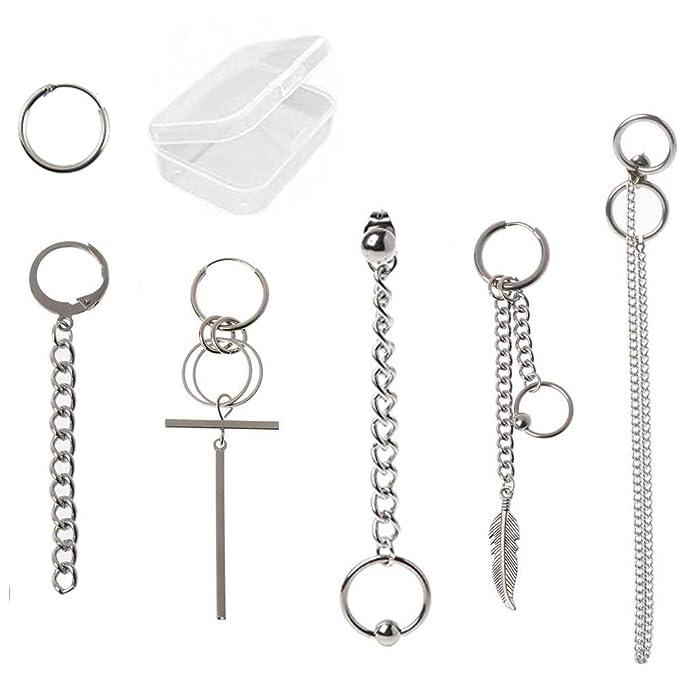 M214-Chain earrings