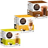 Nescafé Dolce Gusto Cream Collection, 3 Varieties, 48 Capsules 24 Servings