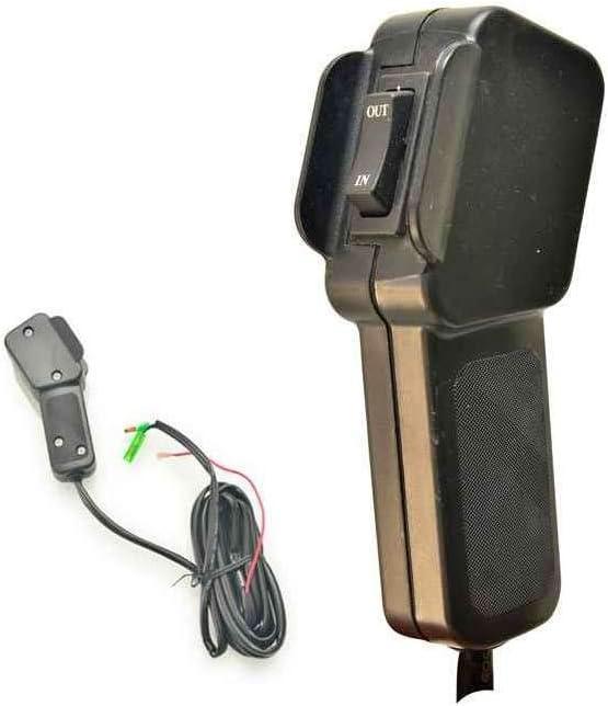 Ideal F/ür Atv 2 Fernbedienungen Elektrische Winde 12V 1 Drahtlos, 1 Kabel Buggys WinchPro 2000kg//4500lbs Kapazit/ät Anh/änger Quads Und Boote 15m Stahlseil Montageplatte