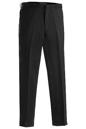 84d1d6552d6 Edwards Garment Men s Flat Front Moisture Wicking Plain Pant at Amazon Men s  Clothing store