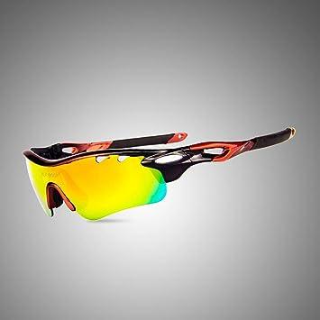 Outdoor-sportarten polarisierende sonnenbrille reiten reiten komfortable brille verhindern sand winddicht brille für ski angeln und klettern , white and red