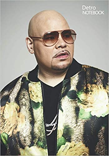 Notebook: Fat Joe Notebook 129 Pages, Lined Diary, Medium Ruled Notebook and Writing Journal Notepad Gift 7 x 10 in (17.78 x 25.4cm)