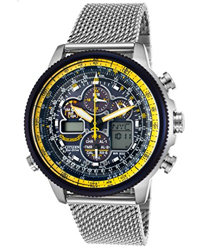 - Citizen Men's Eco-Drive Blue Angels Navihawk A-T Watch