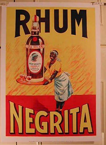 Ron Negrita, 50 x 70 Cm, diseño de cartel-Póster: Amazon.es ...