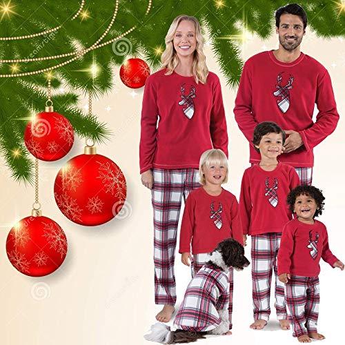 Pijama Navidad Familiar Coincidencia de Familia de los Ciervos ...