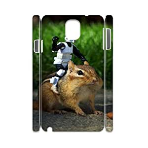 3D Samsung Galaxy Note 3 Case Funny 178, Samsung Galaxy Note 3 Case Funny, [White]