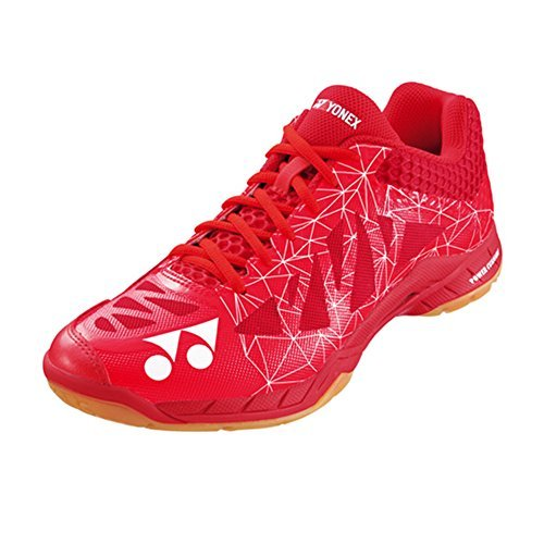 Shoes Badminton Yonex (Yonex Aerus 2 MX Red 2017 New Badminton Shoes (Red, US Men 8.5 (265)))