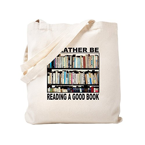 CafePress - BOOK LOVER - Natural Canvas Tote Bag, Cloth Shopping Bag by CafePress