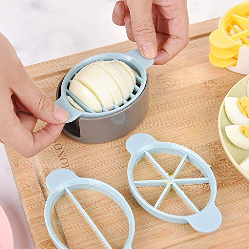 Baomabao Egg Cutter, 3in1 Cooking Tools Cut Multifunction Egg Slicer Cutter Mold Flower Edges Tools